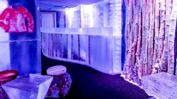 The Ice Bar Paris by KUBE