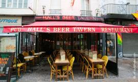 restaurant Hall's Beer Tavern